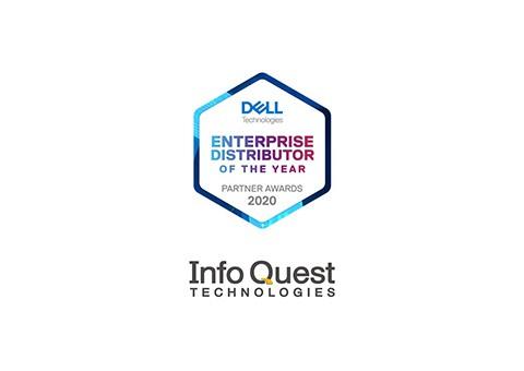 H Info Quest Technologies βραβεύεται από τη Dell ως Enterprise Distributor of the Υear
