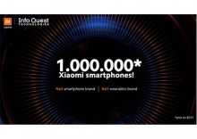 1,000,000 Xiaomi Smartphones from Info Quest Technologies